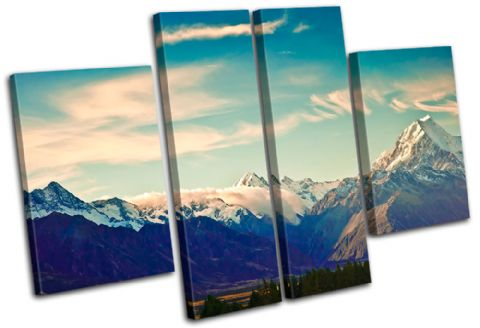 New Zeland Mount Cook Landmarks - 13-0335(00B)-MP17-LO